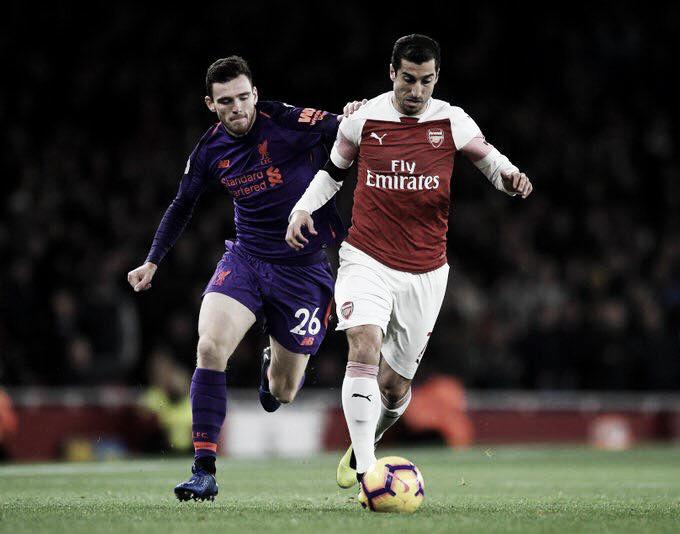 Em jogo eletrizante, Arsenal e Liverpool empatam no Emirates pela Premier League