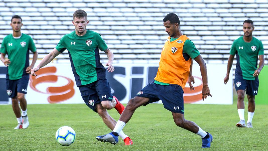 Fluminense vai a Teresina encarar o River-PI na estreia da Copa do Brasil.  Foto  Lucas Merçon Fluminense 470c9594fadad