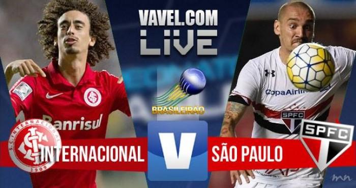 Resultado Inter x São Paulo no Campeonato Brasileiro 2016 (1-1)
