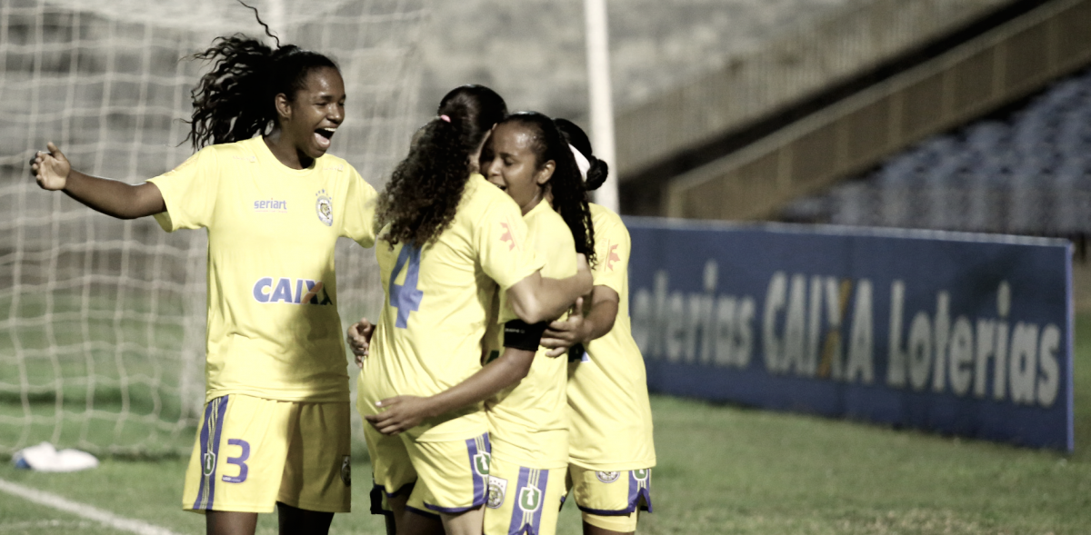 Tiradentes-PI goleia em casa e garante vaga na fase de grupos do Brasileiro Feminino A-2