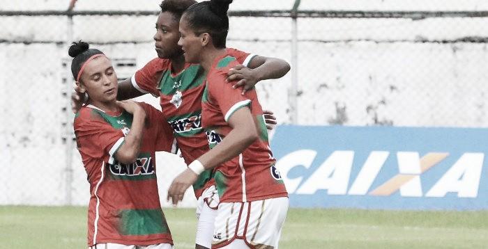 Portuguesa vence Tiradentes, garante acesso e está na final do Brasileiro Feminino A2