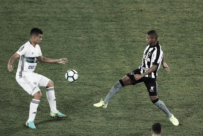 Após pressionar, Botafogo busca empate contra Coritiba no fim pelo Brasileiro sub-20
