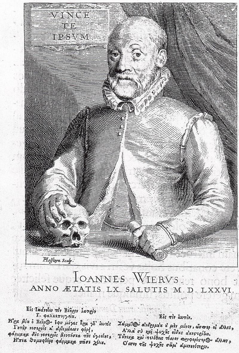 Johann Wier: un demonólogo contra la caza de brujas