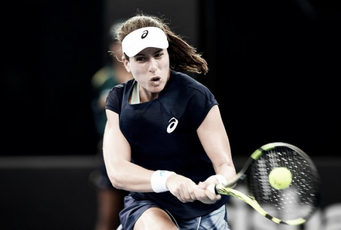 WTA Brisbane: Johanna Konta claims excellent win over Madison Keys
