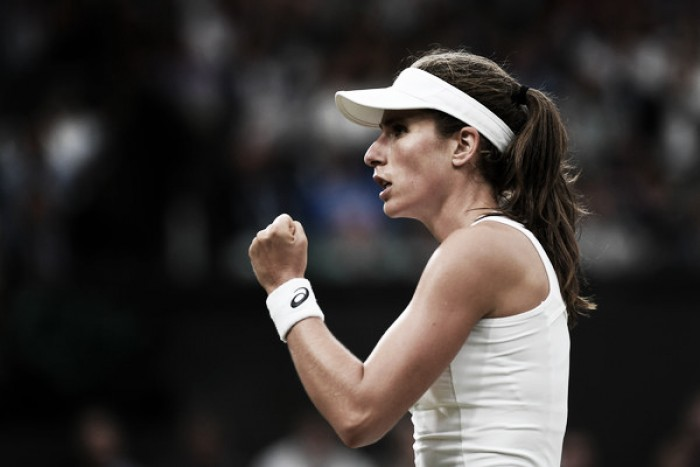 Top 10 Grand Slam Matches of 2017: #5 - Johanna Konta and Simona Halep play out quarterfinal thriller at Wimbledon