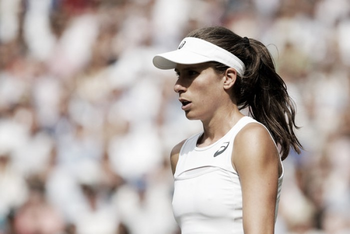 Johanna Konta withdraws from the WTA Elite Trophy due to a foot injury
