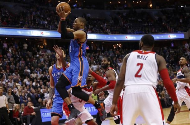 Washington Wizards Suffer Heartbreaking Loss To Oklahoma City Thunder In Overtime