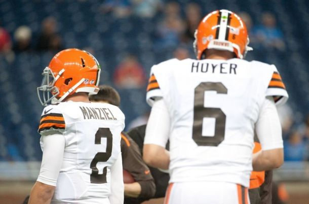 Cleveland Browns Are Smart For Starting Veteran Brian Hoyer Over Rookie Johnny Manziel