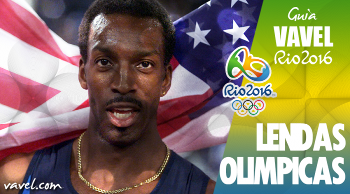 Lendas Olímpicas: Michael Johnson, o homem-raio
