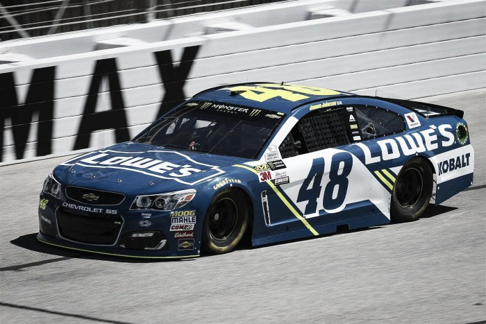 Last Atlanta race on old surface could see Jimmie Johnson make history