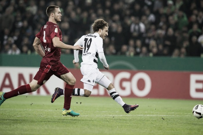 Borussia M'Gladbach bate Sttutgart e avança na DFB Pokal