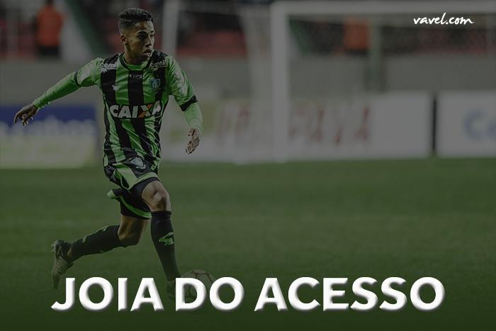 """Após Richarlison em 2015, Matheusinho vira """"joia do acesso"""" do América-MG para Série A"""