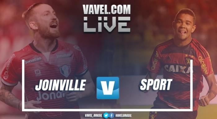 Resultado Joinville x Sport na Copa do Brasil 2017 (2-1)