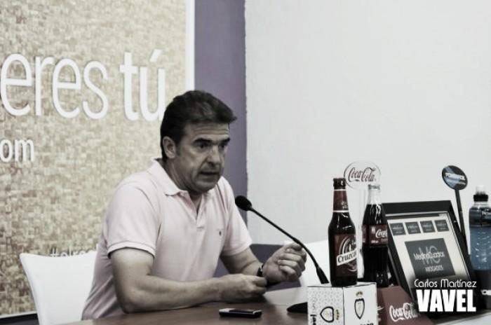 """Gonzalo Arconada: """"Nuestro objetivo es siempre sacar el máximo rendimiento de nuestros futbolistas"""""""