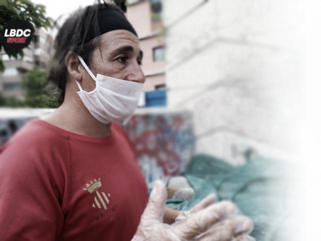 Joaquín Carmona, el sabio español del atletismo, vive en la calle