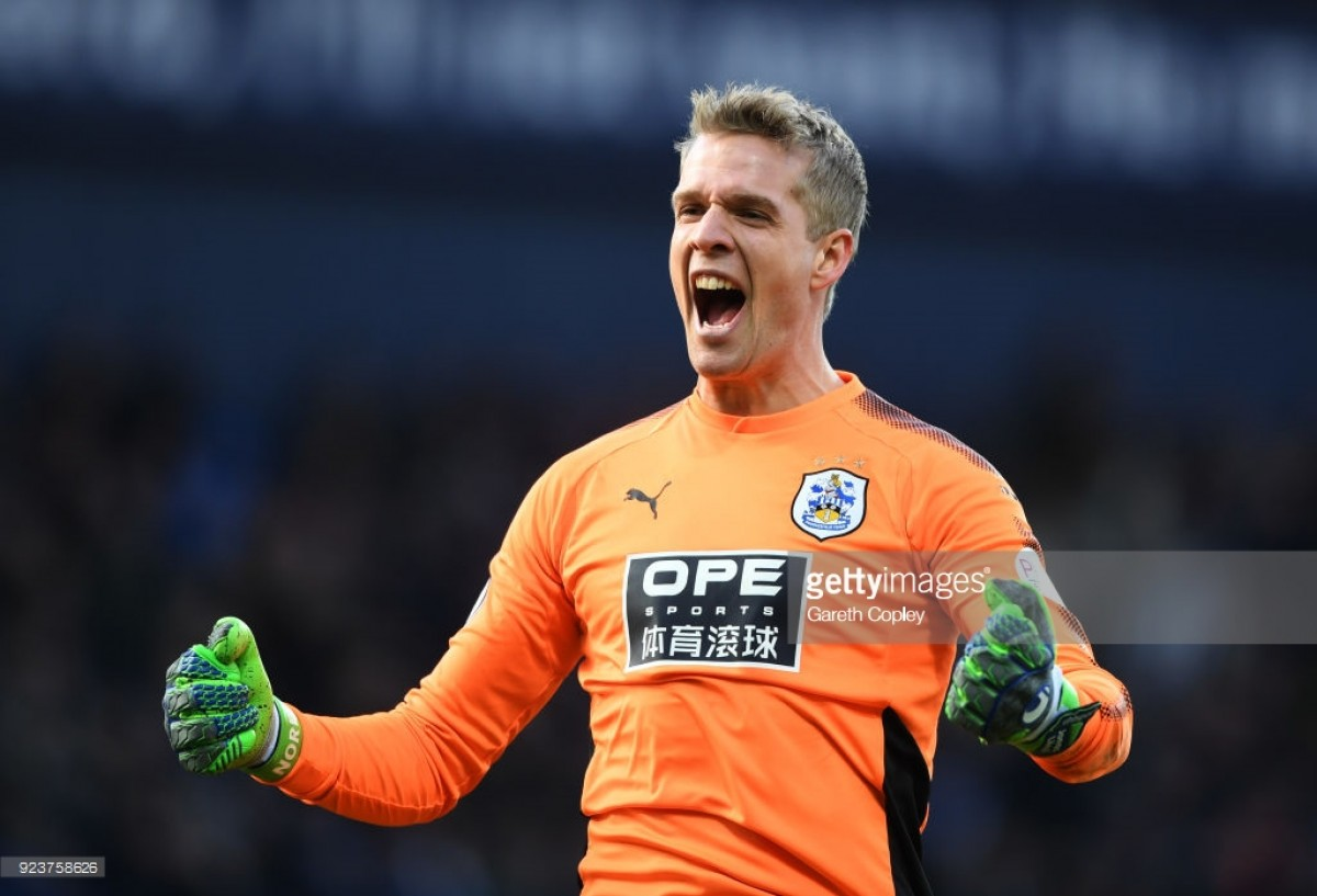 "Jonas Lössl: ""Survival in the Premier League is still in our own hands"""