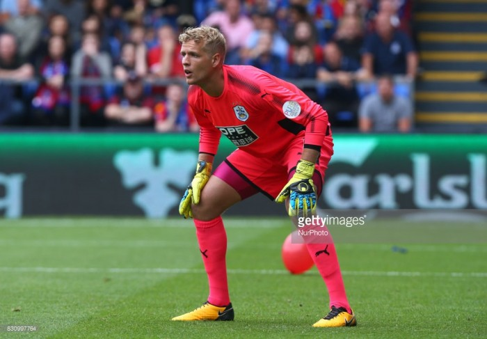Jonas Lossl nominated for August Player of the Month