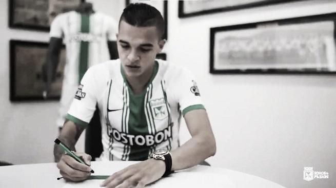 Jonathan Marulanda, primera contratación 'verdolaga' en la era Guimarães