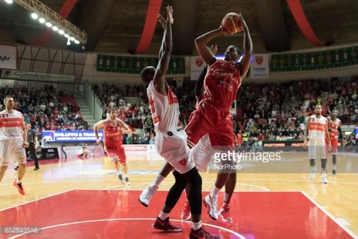 Legabasket Serie A: risultati e tabellini della penultima giornata