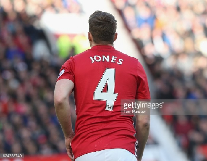 Phil Jones reveals patience key as he looks to avoid injury relapse