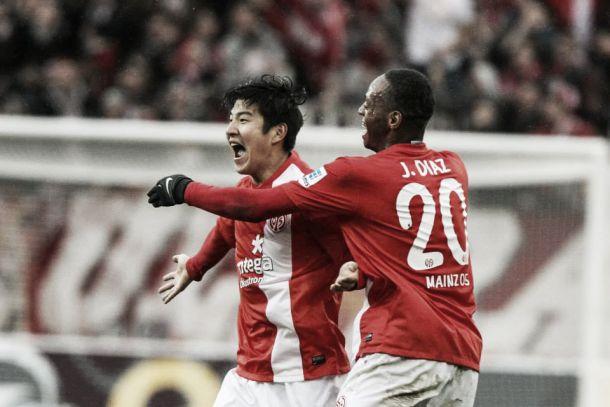 Mainz 05 vence o Freiburg em casa e encosta no Wolfsburg