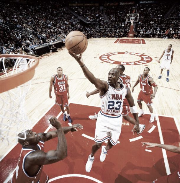Historia del All-Star Game: 2003, el adiós de Michael Jordan