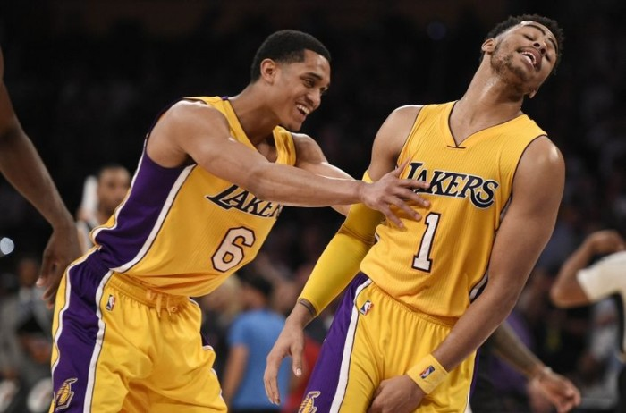 D'Angelo Russell Explodes As Los Angeles Lakers Top Brooklyn Nets