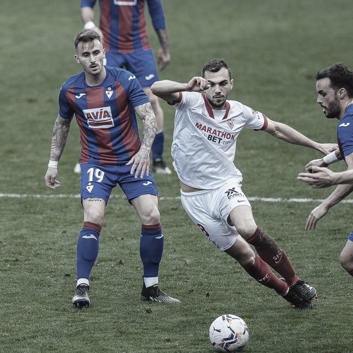 SD Eibar - Sevilla FC; puntuaciones del Sevilla FC de la 21º jornada de LaLiga Santander