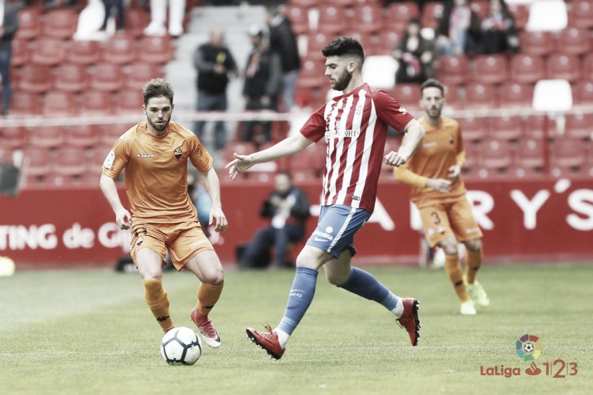 Sporting de Gijón - Reus Deportiu: puntuaciones del Sporting de Gijón, 34ª jornada de LaLiga 1|2|3
