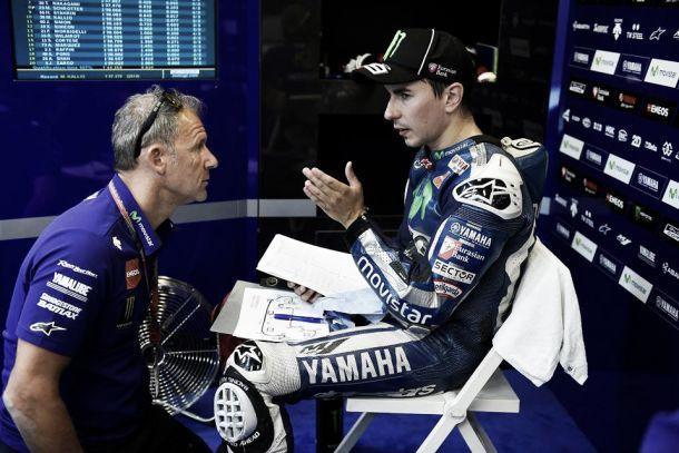 """Jorge Lorenzo: """"Rossi y Márquez tenían mejor ritmo en agua, no pude seguirlos"""""""