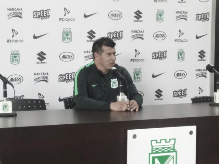 """Jorge Almirón: """"hay que mejorar la productividad del equipo y tratar de dominar la mayoría del partido"""""""