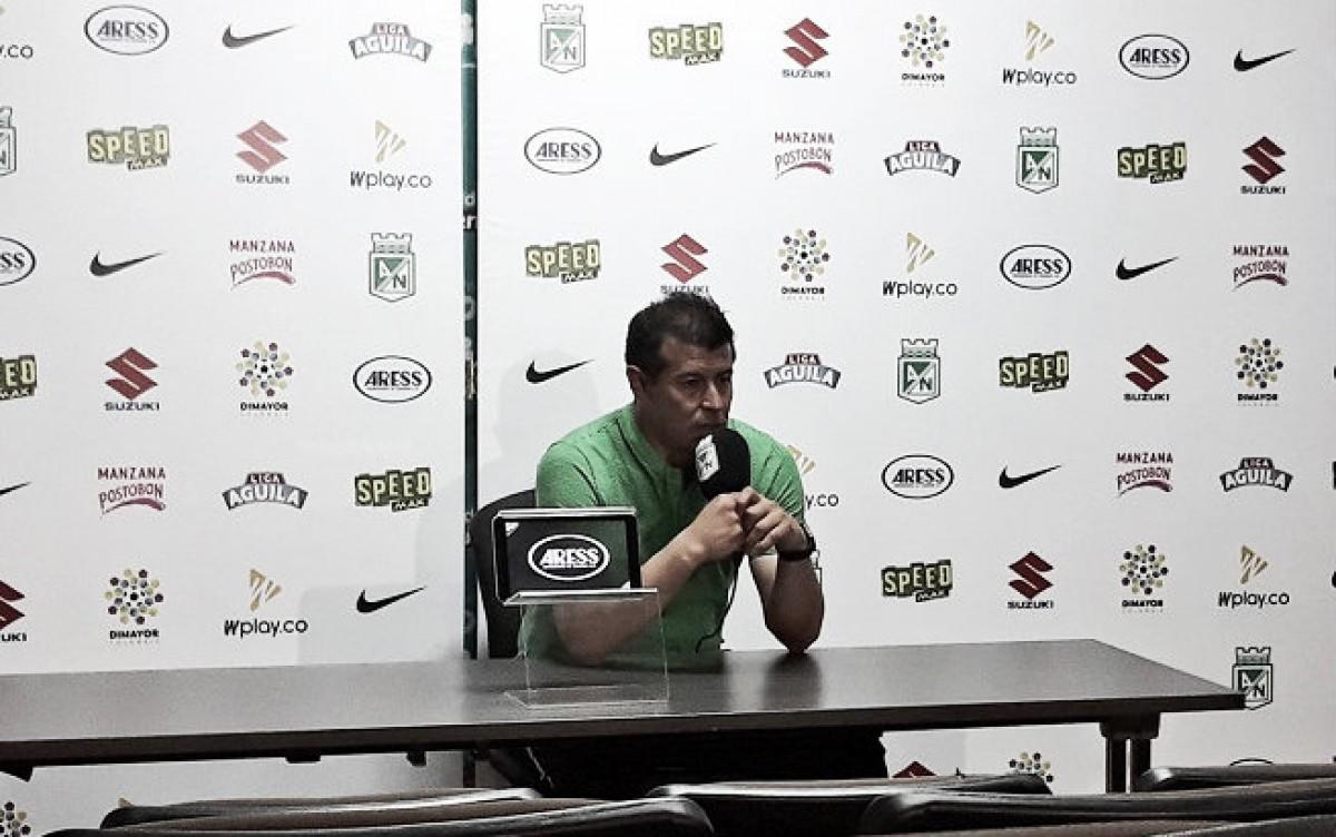 """Jorge Almirón: """"El equipo intentó jugar en todo momento, desde el inicio del partido hasta el final"""""""