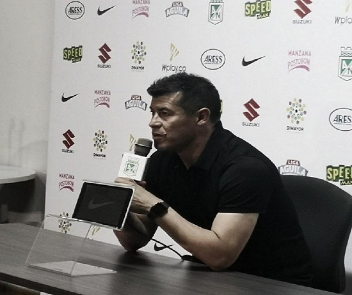 """Jorge Almirón: """"Tuvimos la pelota, dominamos el territorio, pero no fuimos profundos"""""""
