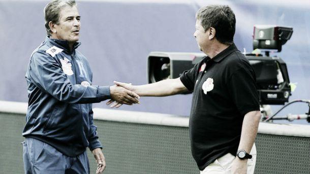 El duelo entre 'Bolillo' Gómez y Jorge Luis Pinto quedó empatado en la Copa Oro