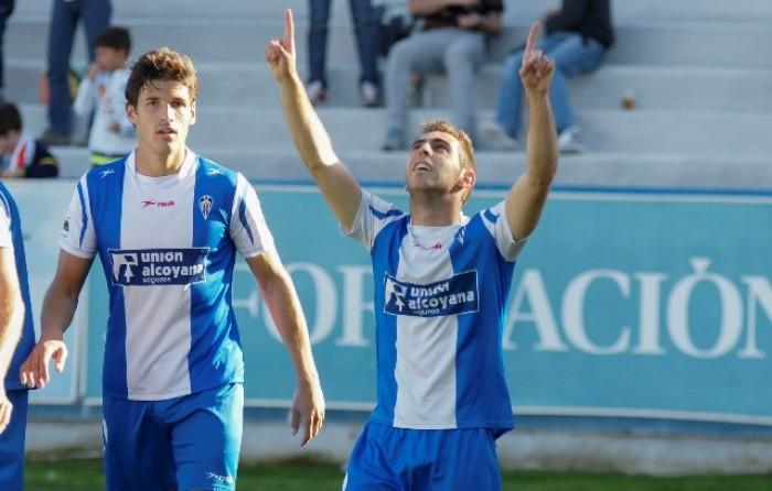 El Alcoyano no da opción al Espanyol B