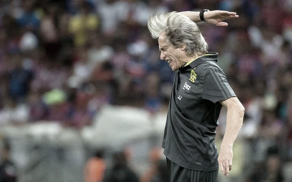 Flamengo diz que boatos envolvendo técnico Jorge Jesus são para 'passar clima de discórdia'