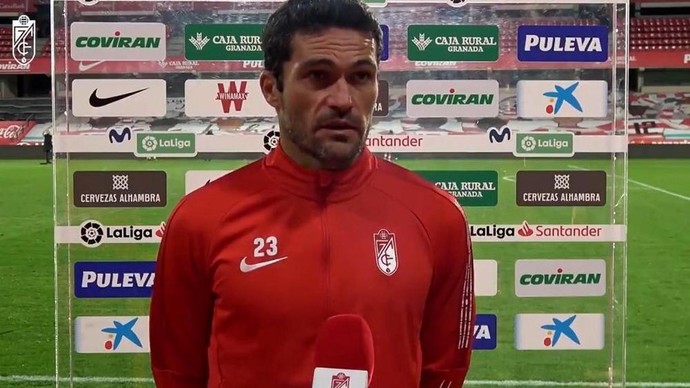 """Jorge Molina: """"Nos va a ayudar mucho sentir el apoyo de la afición"""""""