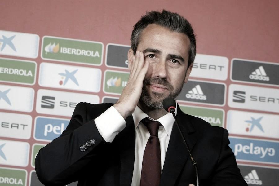 "Jorge Vilda: ""Estamos encantados de enfrentarnos a Inglaterra"""