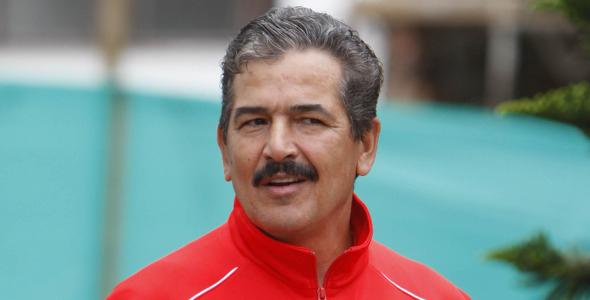 Jorge Luis Pinto, técnico de la Selección Nacional de Costa Rica