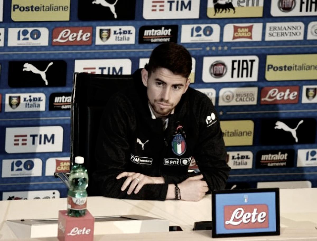"""Jorginho: """"Estoy orgulloso de jugar para Italia"""""""