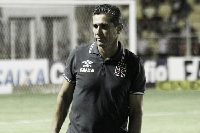 'Quase 100% feliz', Jorginho parabeniza jovens do Vasco após empate com Luverdense