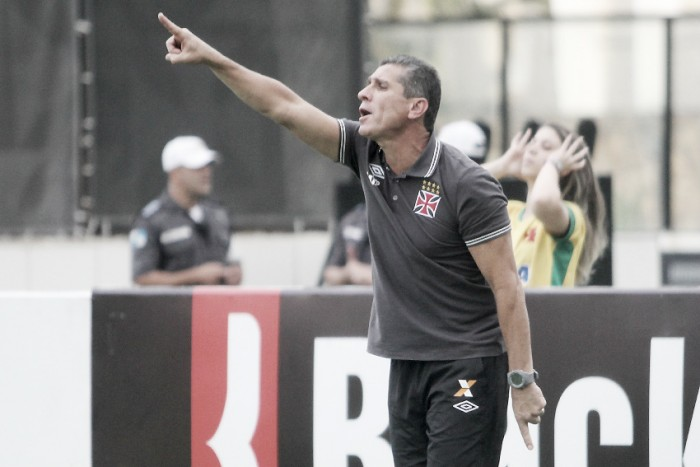 Jorginho cobra evolução do Vasco mesmo com vitória sobre Tupi: ''Poderíamos ter feito mais''