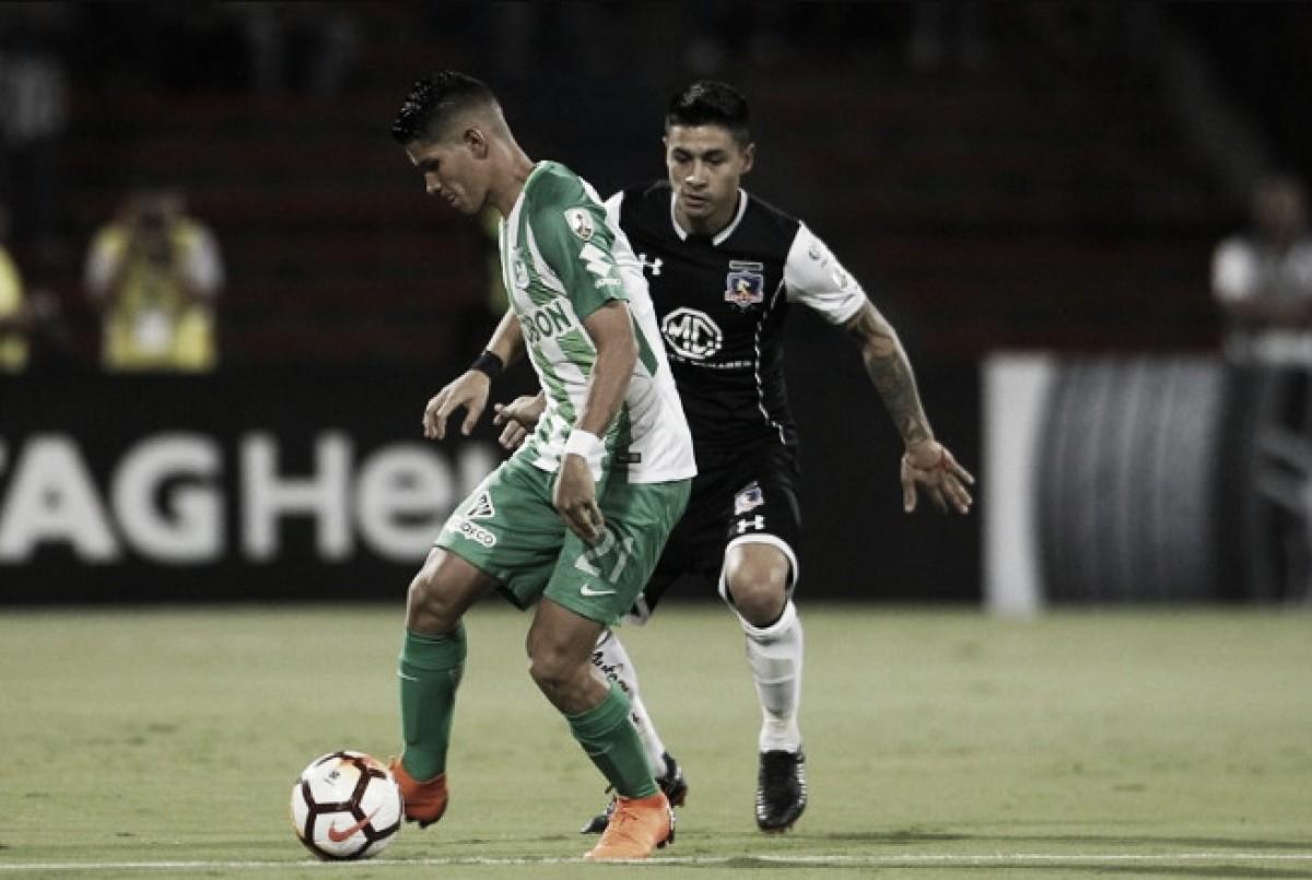 Jorman Campuzano, el tesón del medio campo 'verdolaga' contra Colo Colo