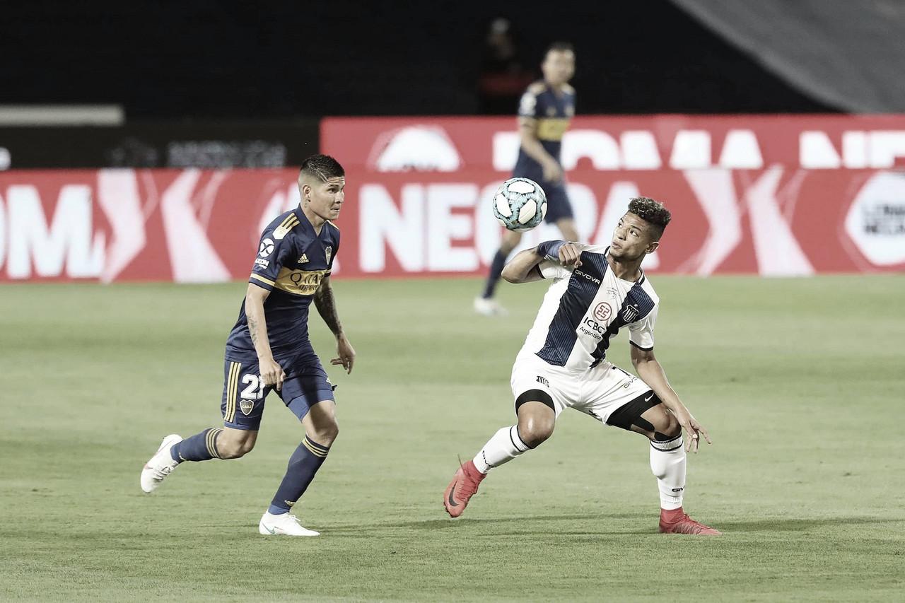 El último partido entre Boca y Talleres