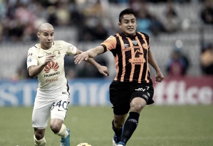 América 1-0 Necaxa: puntuaciones de Necaxa en la Jornada 10 de la Liga MX Clausura 2017