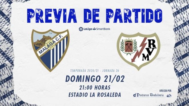 Previa Málaga CF - Rayo Vallecano: la necesidad de sumar