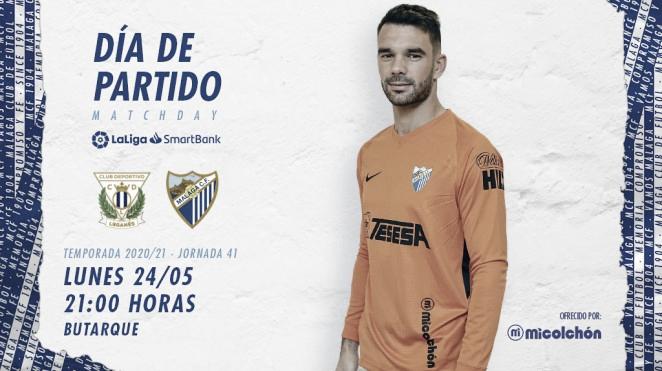 Previa CD Leganés - Málaga CF: play-offs vs honor