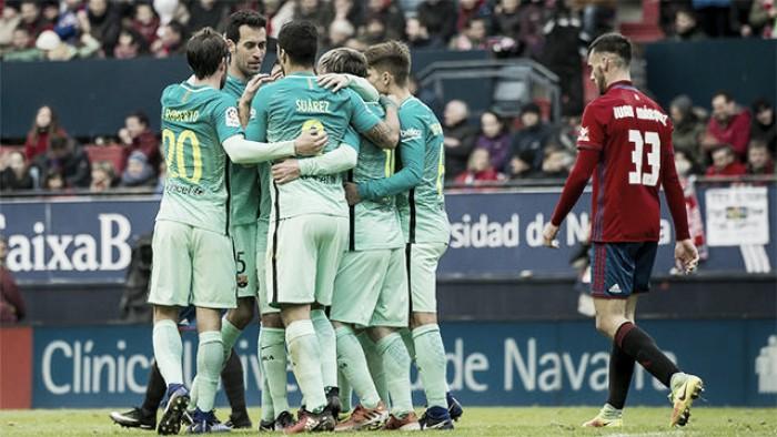 El Barça ya sabe el horario del duelo ante los roj ...