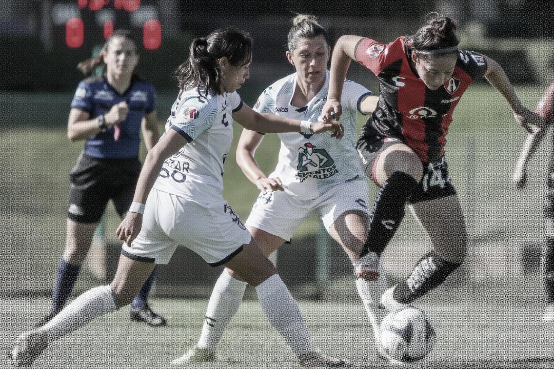Atlas y Pachuca empatan en partidazo de Liga MX Femenil