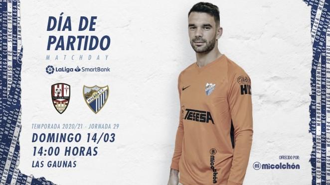 Previa UD Logroñés - Málaga CF: asalto a las Gaunas